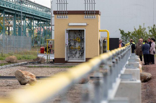 Tag der offenen Tür im Wasserstoffdorf Bitterfeld-Wolfen. Quelle: Michael Setzpfand