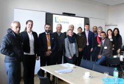 Jordanische Delegation bei Landrat Henry Graichen. Foto: Landkreis Leipzig