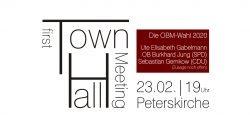 Die erste Townhall Leipzigs. Eine Idee, die es jährlich geben soll. Foto: L-IZ.de