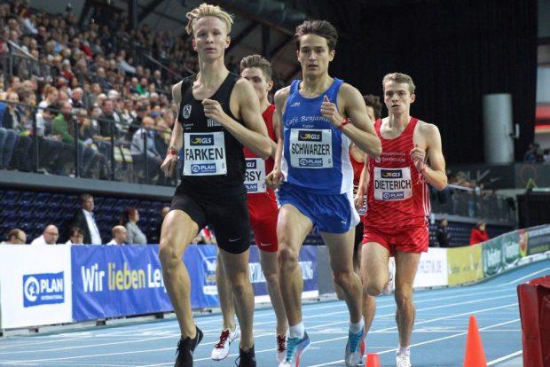 Titelverteidiger Robert Farken ist am Sonntag im 800-Meter-Finale ein heißer Gold-Kandidat. Foto: Jan Kaefer
