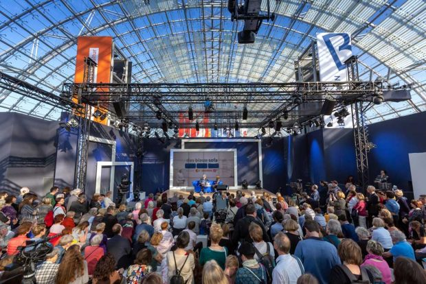 Das Blaue Sofa. Foto: Leipziger Messe, Tom Schulze