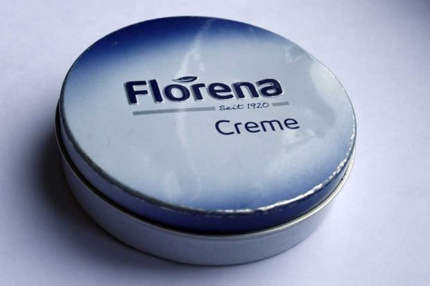 "Traditionsmarke ""Florena"". Foto: Ralf Julke"