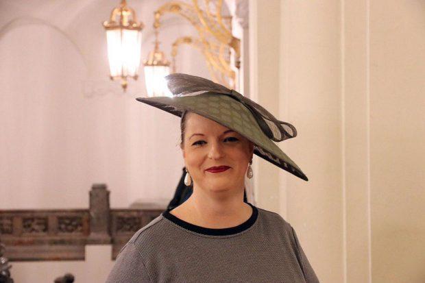 Den Dress-Wettbewerb hat unterdessen Ute Elisabeth Gabelmann wahrscheinlich früh für sich entschieden. Foto: L-IZ.de