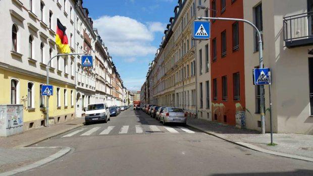 Blick in die Gutsmuthsstraße in Lindenau. Foto: Marko Hofmann