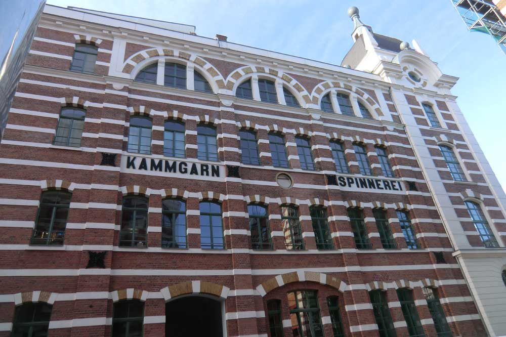 Alte Kammgarnspinnerei in Plagwitz. Foto: Marko Hofmann