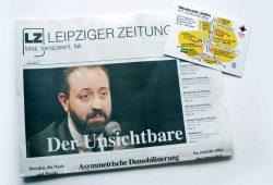 Leipziger Zeitung Nr. 76: Der Unsichtbare. Foto: L-IZ