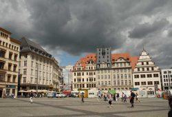 Der Leipziger Markt. Foto: Ralf Julke