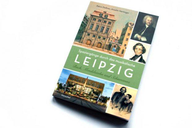 Petra Dießner, Anselm Hartinger (Hrsg.): Spaziergänge durch das musikalische Leipzig. Foto: Ralf Julke