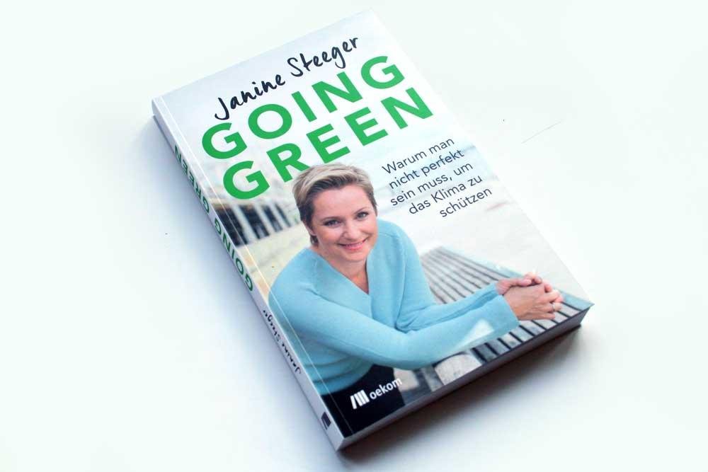 Janine Steeger: Going Green. Foto: Ralf Julke