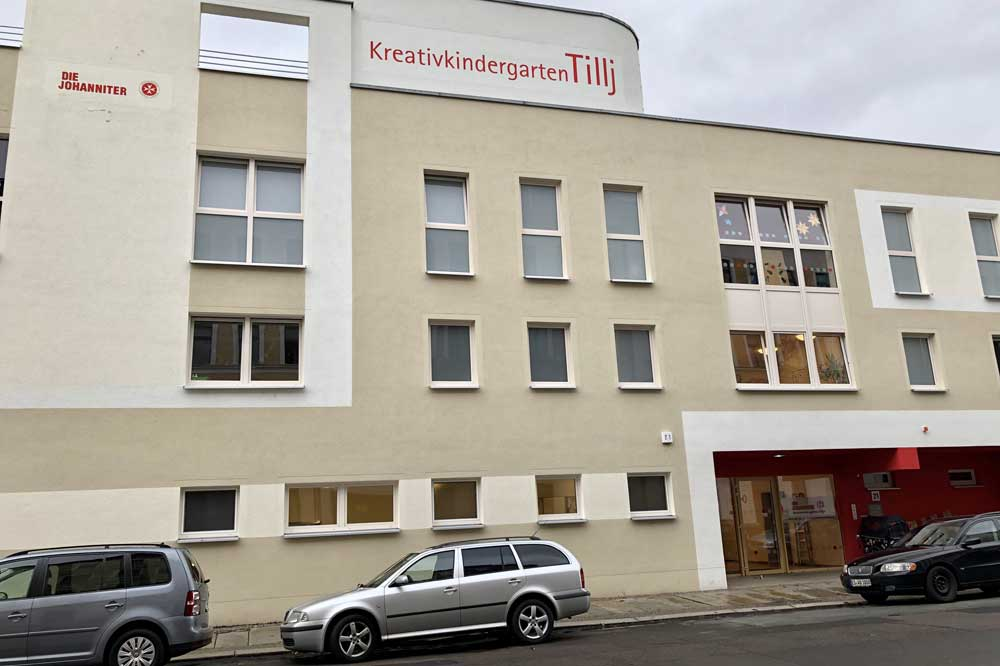 "Die Johanniter-Kindertagesstätte ""Tillj"" in der Südvorstadt. Foto: Die Johanniter / Sebastian Späthe"