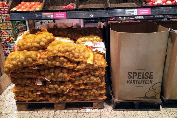 Der Handel sorgt auch wieder für mehr Kartoffeln. Foto: L-IZ.de