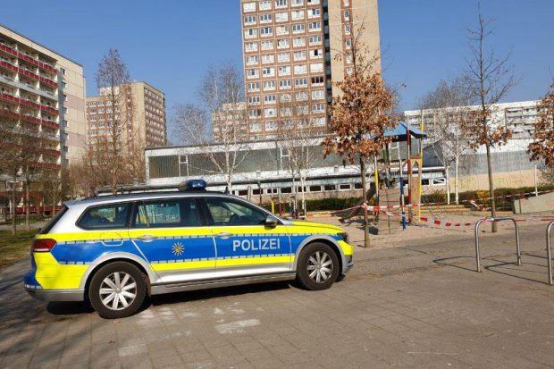 Die Polizei passt auf in Grünau. Foto: L-IZ.de