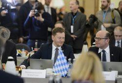 Gemeinsame Kabinettssitzung von Bayern und Sachsen © Pawel Sosnowski