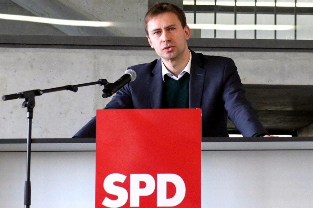 Leipzigs SPD-Vorsitzender Holger Mann. Foto: LZ