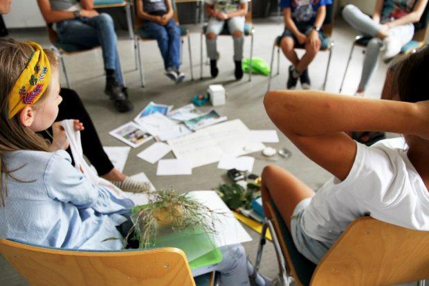 Jugendaufsichtsrat diskutiert Ideen © Naturkundemuseum Leipzig