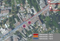 Leitungsverlegung Bahnhofstraße. Quelle: Stadtverwaltung Borna