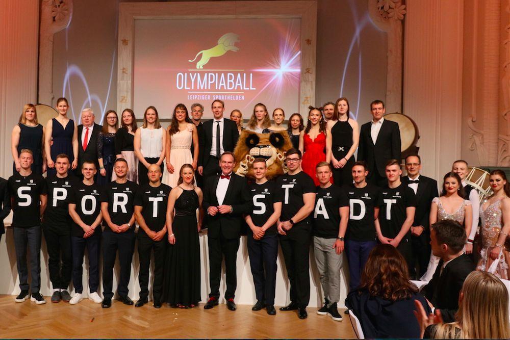 Leipzig feierte seine Sporthelden auf dem Olympiaball. Foto: OSL GmbH
