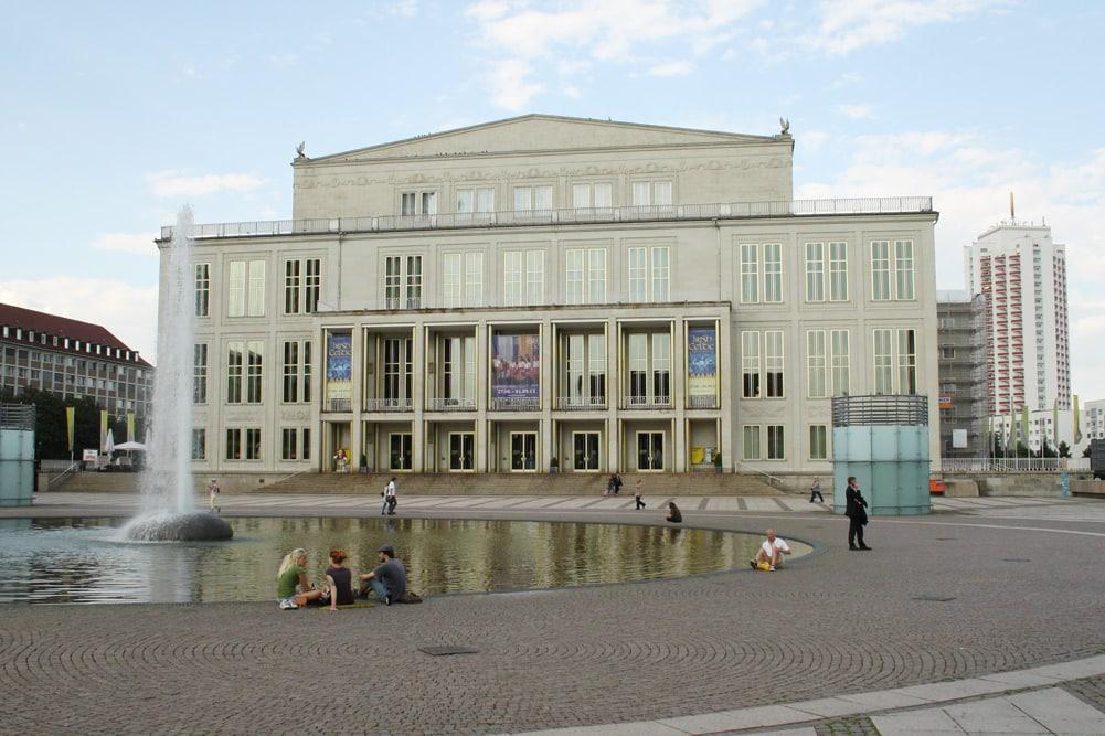 Die städtischen Kultureinrichtungen wie Oper und Gewandhaus pausieren. Foto: LZ