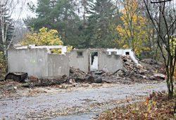 Abbrucharbeiten im Gelände der Parkstadt. Foto: L-IZ