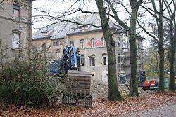 Bauarbeiten in der Parkstadt. Foto: L-IZ.de