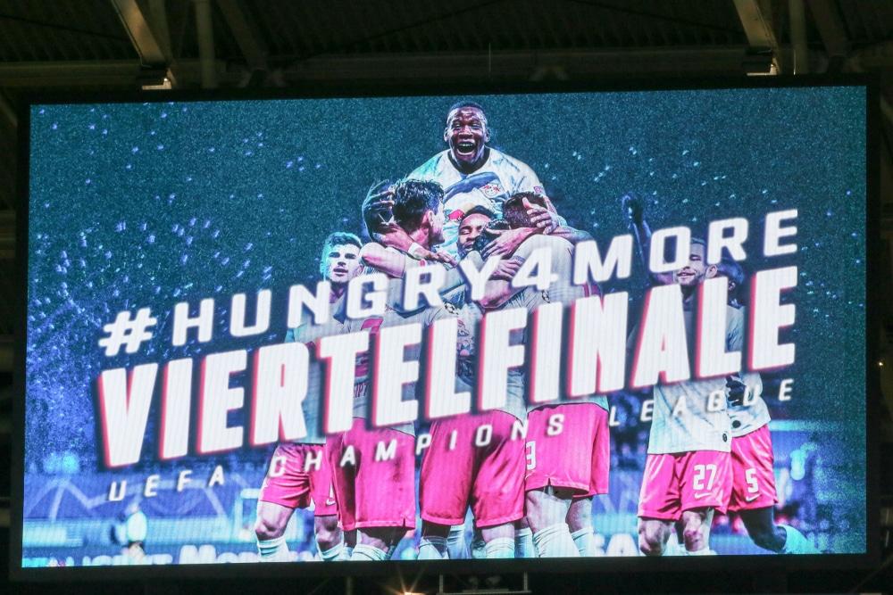 RB Leipzig hat das Viertelfinale der Champions League erreicht. Ob und wie dieses stattfinden wird, ist aber offen. Foto: Gepa Pictures