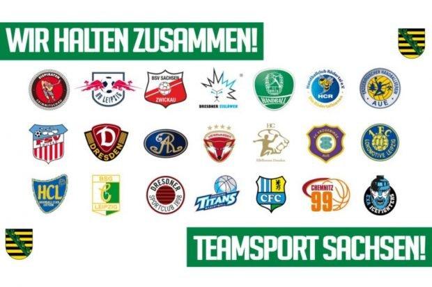 Die Corona-Krise bringt die sächsischen Vereine einander näher. Quelle: Teamsport Sachsen