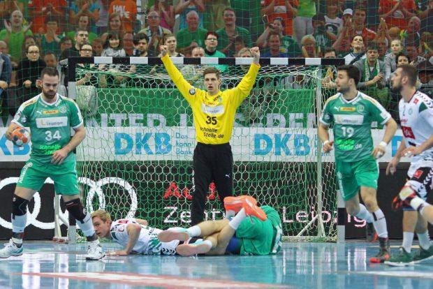 Torhüter Joel Birlehm blieb am Ende gegen seinen Ex-Verein Sieger. Foto: Jan Kaefer