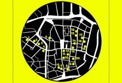 Die Buwision in der Leipziger Innenstadt. Karte: Uni Leipzig, Buchwissenschaft