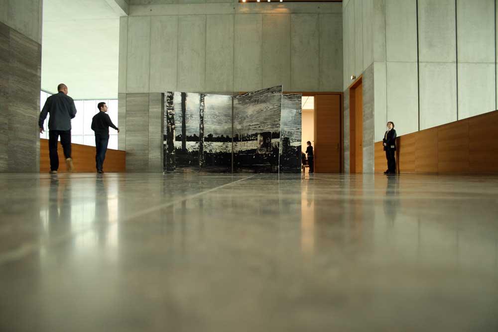 Foyer im Museum der bildenden Künste. Foto: Ralf Julke