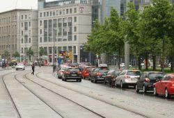 Verkehrssituation am Johannisplatz. Foto: Ralf Julke
