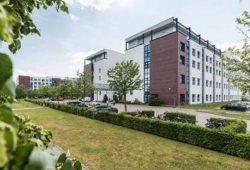 Das Herzzentrum Leipzig und Helios Park-Klinikum Leipzig im Südosten von Leipzig. © Christian Hüller, Helios Kliniken
