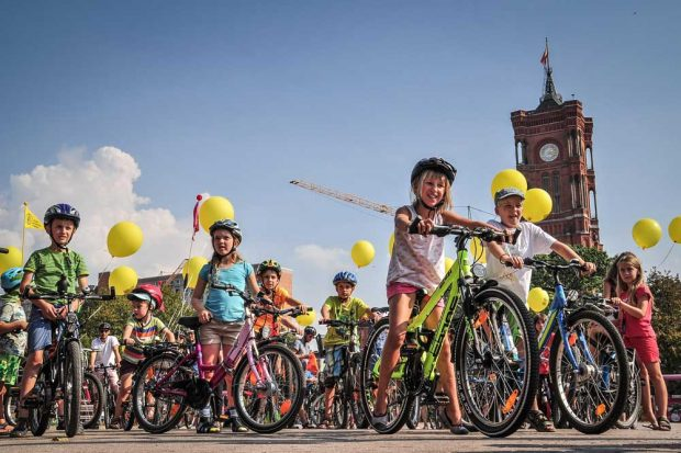 KIDICAL MASS 2019 in Berlin. Foto: KIDICAL MASS / Norbert Michalke
