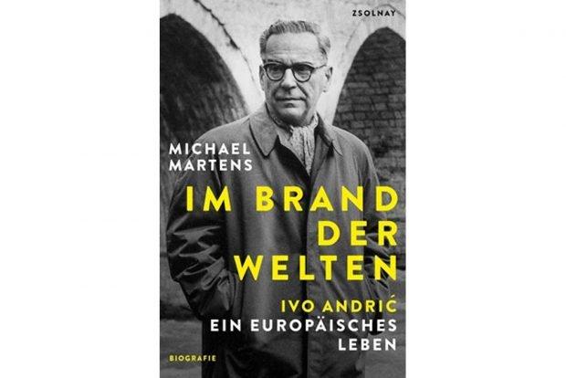 Michael Martens: Im Brand der Welten. Cover: Zsolnay