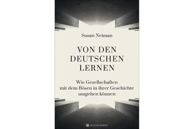 Susan Neiman: Von den Deutschen lernen. Cover: Hanser Berlin