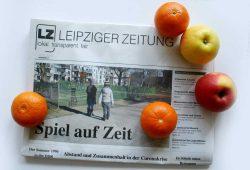 Leipziger Zeitung Nr. 77: Spiel auf Zeit. Foto: L-IZ