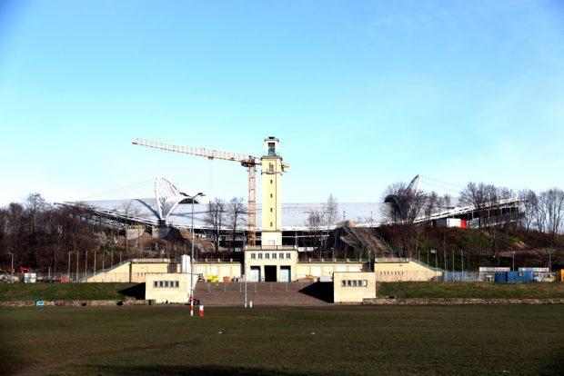 Am Zentralstadion auf der Festwiese. Foto: L-IZ.de