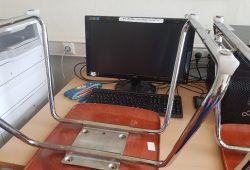 Auch die Computer in den Unterrichtsräumen der Schulen bleiben derzeit aus. © Marko Hofmann