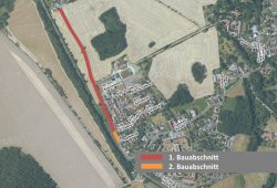 Bankettsanierung Raupenhainer Str. Quelle: Stadtverwaltung Borna