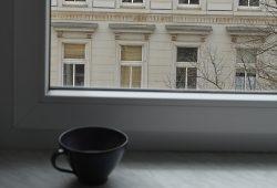 Blick aus dem Fenster. Es wird stiller. © privat