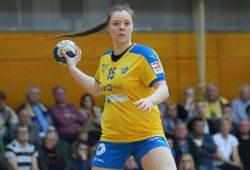 Die HCL-Mannschaftsverantwortliche Johanna Schierbok. Foto: Jan Kaefer (Archiv)