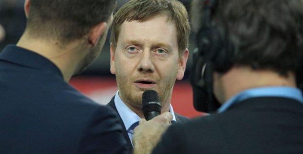 Michael Kretschmer (CDU), der Ministerpräsident des Freistaats Sachsen. Foto: Jan Kaefer (Archiv)