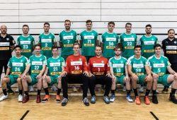 Mannschaftsfoto der U23. Quell: SC DHfK Handball