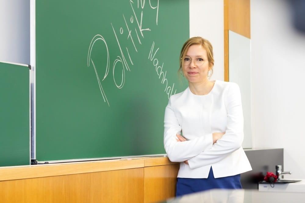 Prof. Dr. Nina Kolleck. Foto: Swen Reichhold