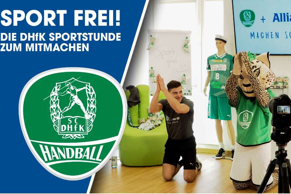 Sport frei! Quelle: SC DHfK