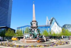 Mendebrunnen. Quelle: Stadt Leipzig