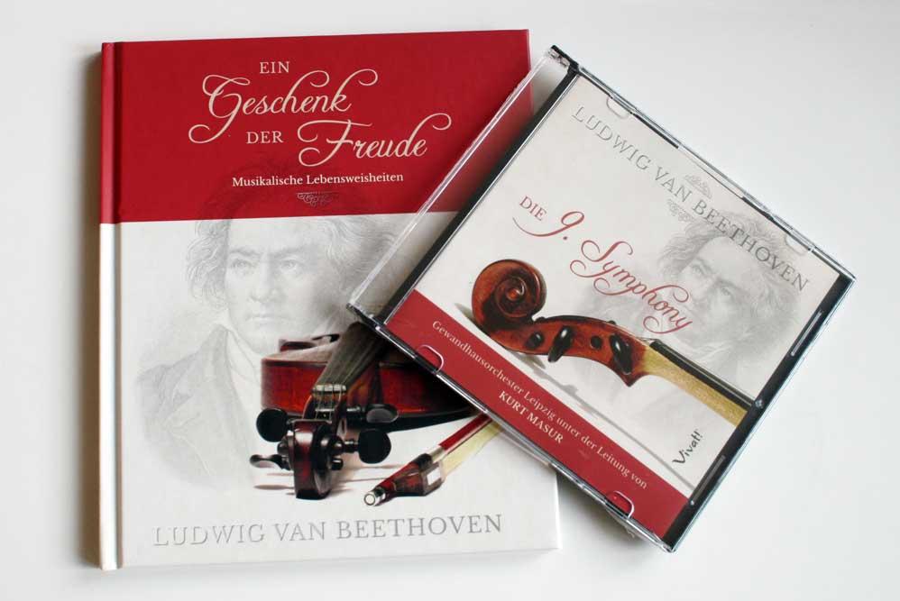 Ludwig van Beethoven: Ein Geschenk der Freude. Musikalische Lebensweisheiten. Foto: Ralf Julke
