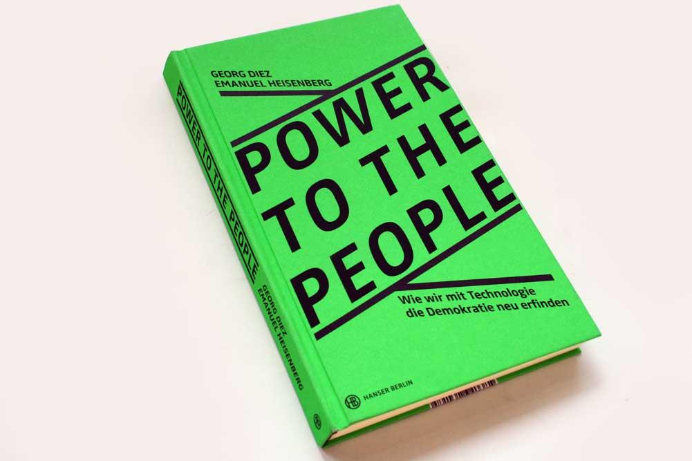 Georg Diez, Emanuel Heisenberg: Power to the peaople. Foto: Ralf Julke