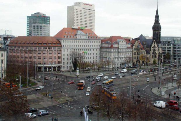 Kreuzung Goerdelering. Archivfoto: Ralf Julke