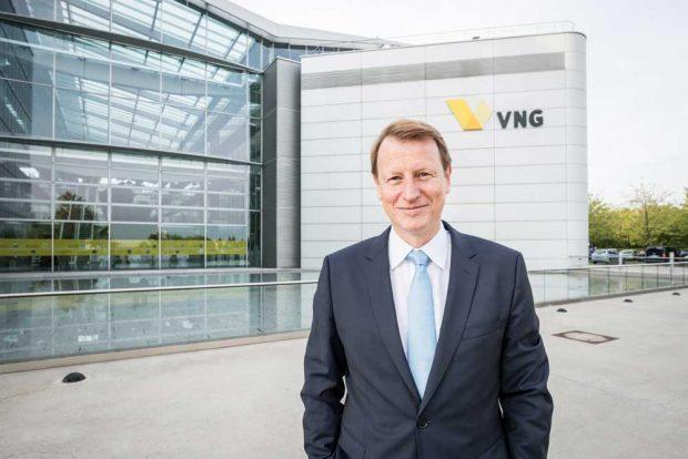 Ulf Heitmüller, Vorstandsvorsitzender der VNG AG mit Hauptsitz in Leipzig. Foto: Eric Kemnitz / VNG AG