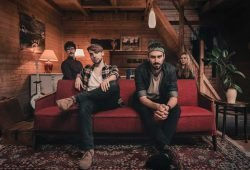 Die vier Bandmitglieder von Jante. Foto: Jante
